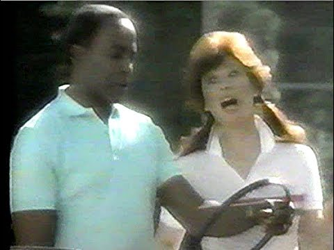 Ocean Spray Commercial Robert Guillaume, Jill St. John, Don Galloway, Pam Shriver, 1984