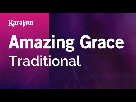 Karaoke Amazing Grace - Traditional *