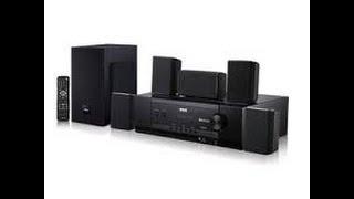RCA 5.1 Surround Sound 1000 Watt HOME THEATER  RT2781BE