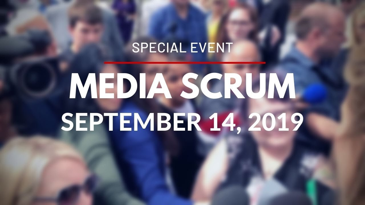O-Train Line 1 - Confederation Line - Media Scrums - September 14, 2019