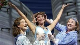Kim Ismay, Lara Mulcahy & Vivien Parry - BBC Interview Mamma Mia West End