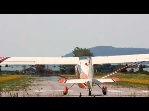 [HD] Bellanca 7KCAB Citabria and Bellanca 7ECA Citabria Takeoff CSU3