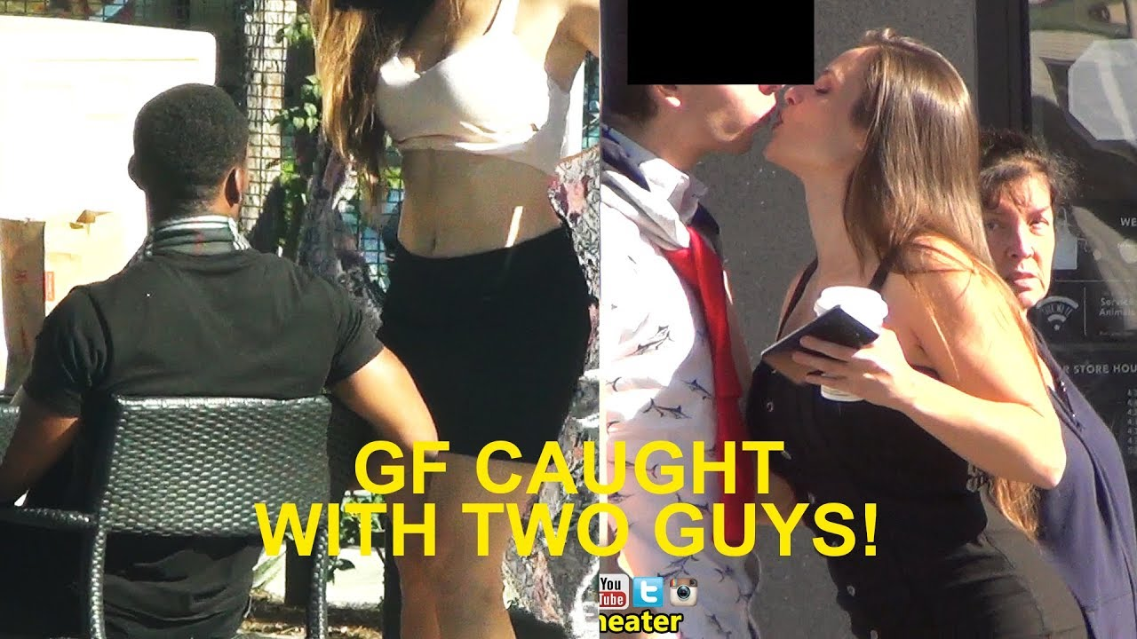 Guys caught on cam