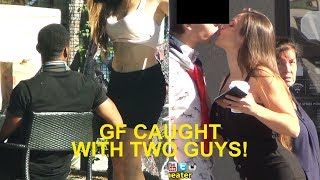 GIRL CAUGHT CHEATING with 2 GUYS (EXPOSED!!!!) thumbnail