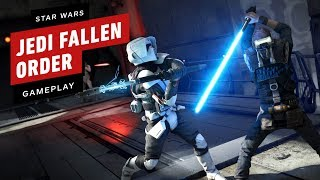 10 Minutes of Star Wars Jedi Fallen Order Gameplay