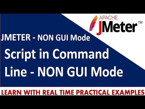 JMeter Tutorials | How to run JMeter script in Command Line