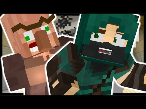 MEETING HERMAN THE GERMAN!? | Minecraft Villager Trouble Adventure Map