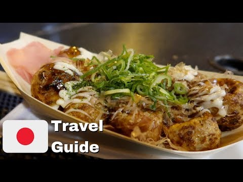 Osaka Dotonbori Street Food Tour | Japan Travel Guide