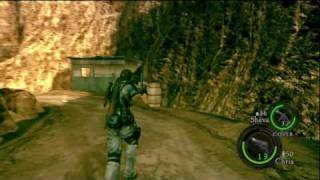 Resident Evil 5 HD Chapter 2-2 (End) Boss Battle Popokarimu P14