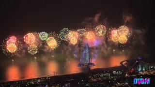 Burj Al Arab 2014 Fireworks