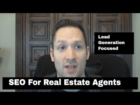 SEO For Real Estate Agents | Real Estate Lead Generation With SEO | Course By 4rd Marketing