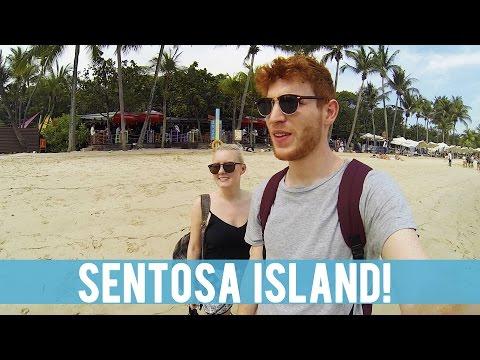 VISITING SENTOSA ISLAND!