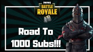 Fortnite India | Road to 1000 subs  | !giveaway