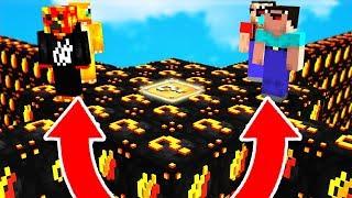 2 NOOBS vs 2 PROS! - FIRE / PrestonPlayz LUCKY BLOCK WALLS (Minecraft Mods)