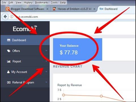 Cara Menggunakan Ecomobi Sebagai Iklan Blog Mobile