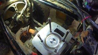 How to fix a smokey 4 stroke motorbike / quad bike motor. TRX350 recon