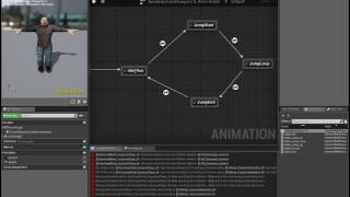 Custom Character in UE4 - 2 - Blueprints and State Machines