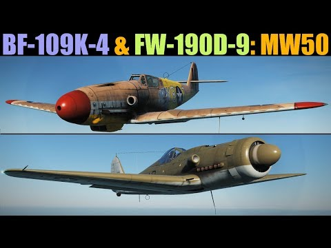 BF-109 K-4 & FW-190 D-9: MW50 Power Boost Tutorial | DCS WORLD