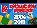 DESCUBRO EL PRIMER JUEGO CREADO EN ROBLOX | 2004 - 2017 LA HISTORIA DE ROBLOX