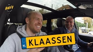 Davy Klaassen part 2 - Bij Andy in de auto! (English subtitles)