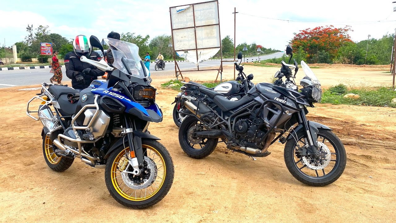 Both my BMW 1250GSA & Tiger for this RIDE !