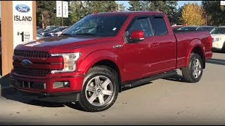 2018 Ford F-150 Lariat Sport EcoBoost SuperCab Review| Island Ford