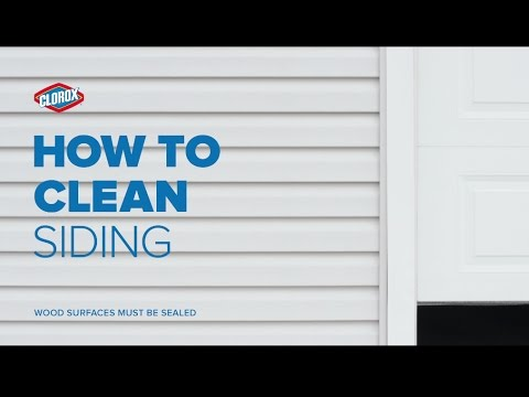 Clorox How To Clean Outdoor Siding With Bleach