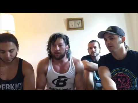 Kenny Omega and YOUNG BUCKS AND ADAM COLE THE ELITE PERISCOPE FULL VERSION TOO SWEET