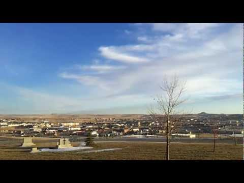 A 360 view of Gillette, Wyoming
