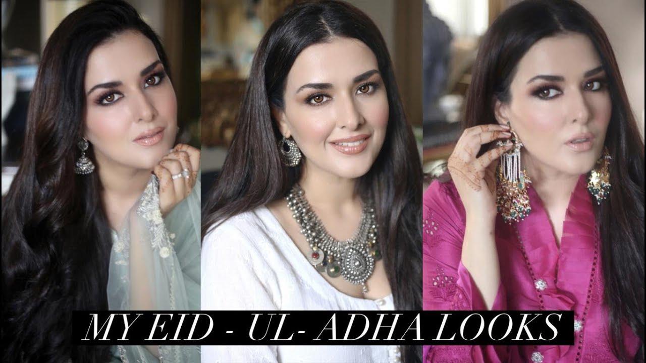 MY EID UL ADHA LOOKS I CELEBRATING AT HOME I EID UL ADHA 2021