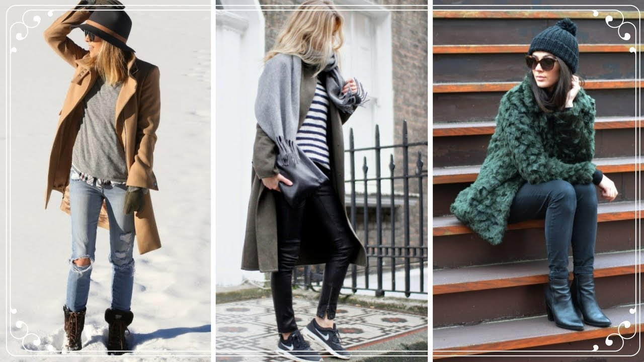STYLISH WINTER OUTFITS IDEAS 2018 | WINTER FASHION TRENDS   YouTube