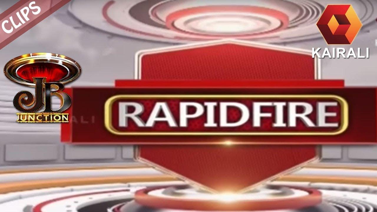 JB Junction :  Rapid Fire Round With Shamna Kasim