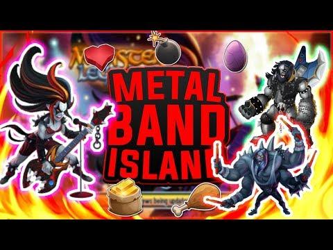 Monster Legends | Metalband Progressive Island Analysis | Metalisha the new Demise?