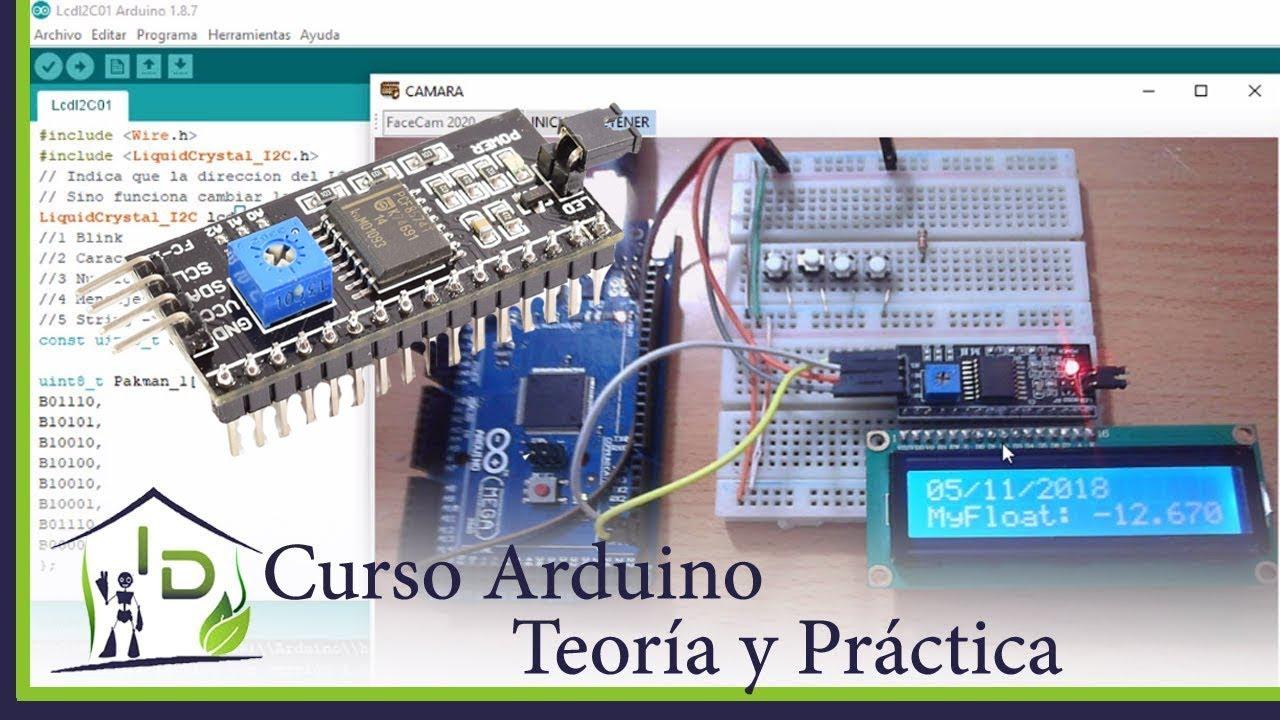 26 Curso Arduino Módulos Lcd I2c Arduino Uno Esp8266 Esp32