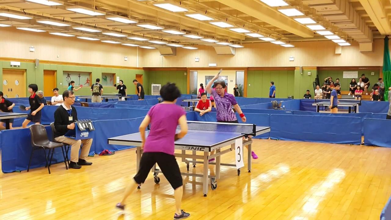 20170618_康文署主辦 第三十二屆北區分齡乒乓球比賽2017 (D) - YouTube