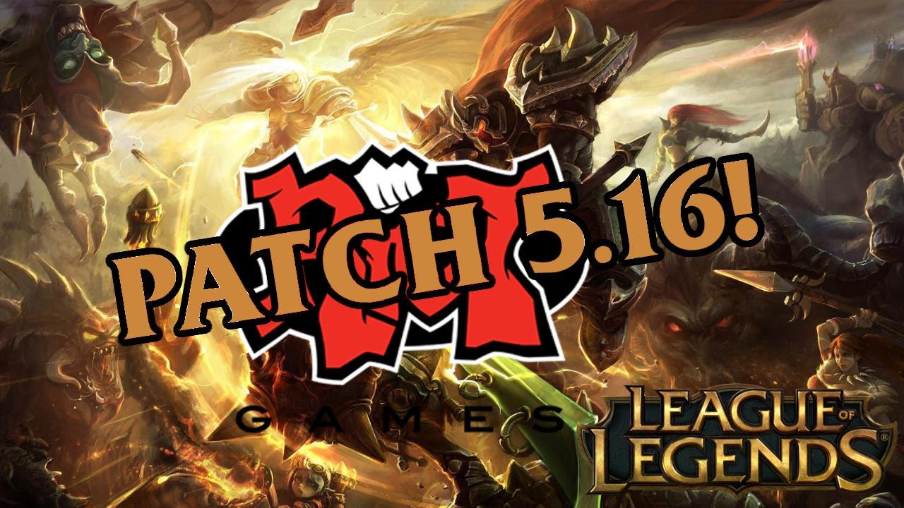 league of legends patch  problems