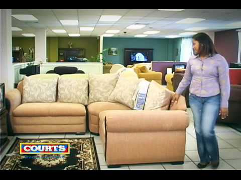 Courts furniture august 2010 youtube for I furniture warehouse