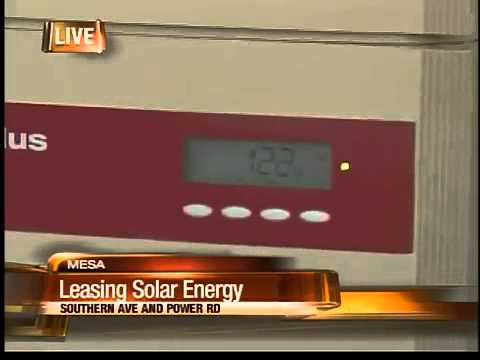 Valley homeowners can rent out solar panels