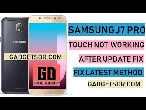 Fix Touch Not Working After Update Samsung SM-J730F - FRP