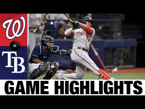 Download Nationals vs. Rays Game Highlights (6/09/21)   MLB Highlights