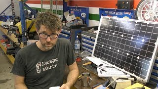 installing-a-solar-cell-in-a-boat
