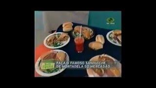 O Famoso Sanduíche do Mercadão - Mortadela Hocca