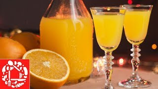 Апельсиновый ликер в домашних условиях.🥂 Легкий рецепт на новый год