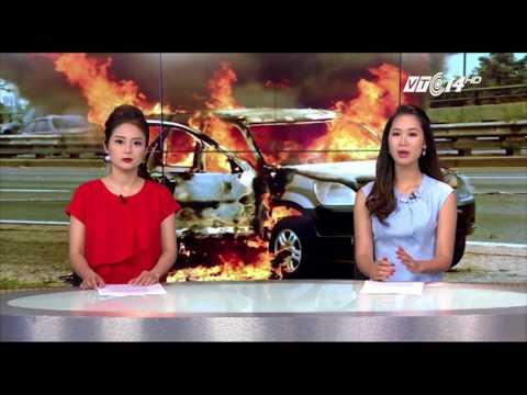 (VTC14)_ Hải Dương: Bị đốt ô tô vì bị nghi vào làng thôi miên, bắt cóc trẻ em