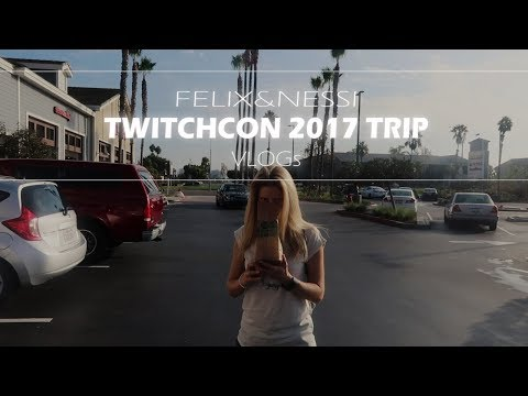 AUF NACH LOS ANGELES! | TwitchCon 2017 Trip | Travel Vlog