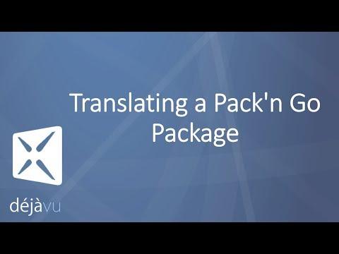 Déjà Vu X3 - Translating A Pack'n Go Package