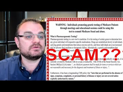 Genetic Cancer Testing & Medicare | SCAM?