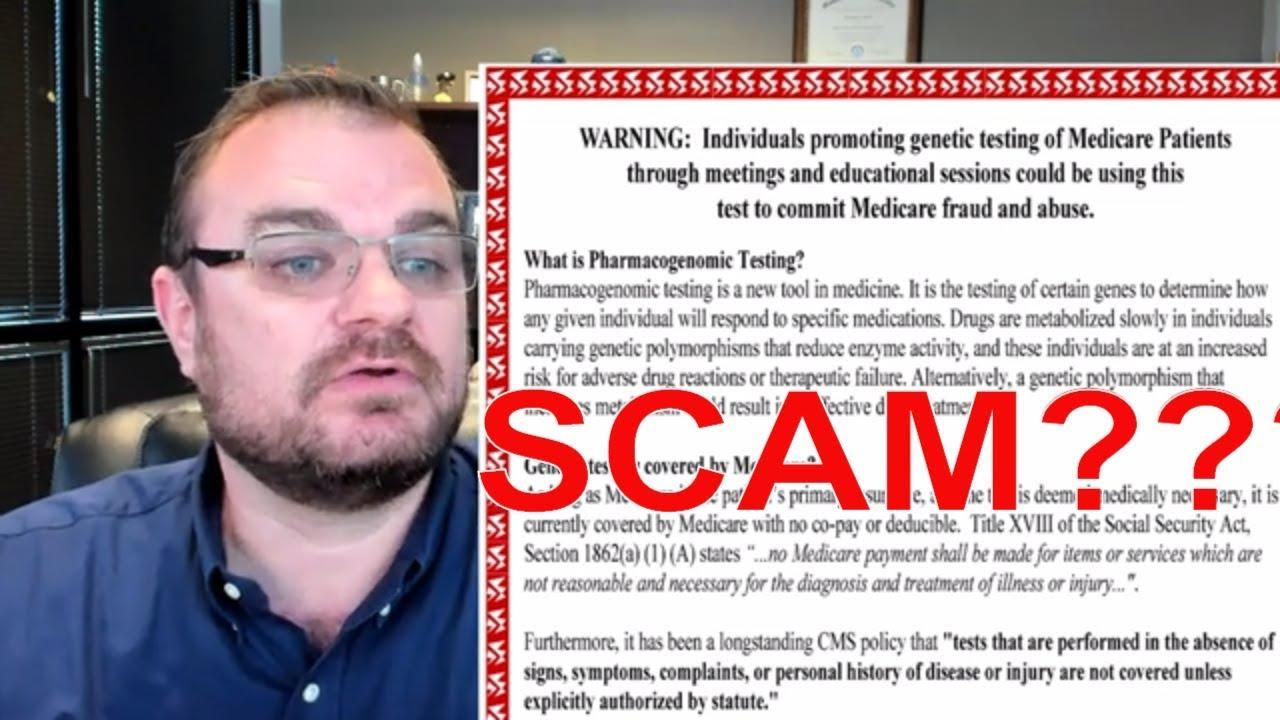 Genetic Cancer Testing & Medicare | SCAM?
