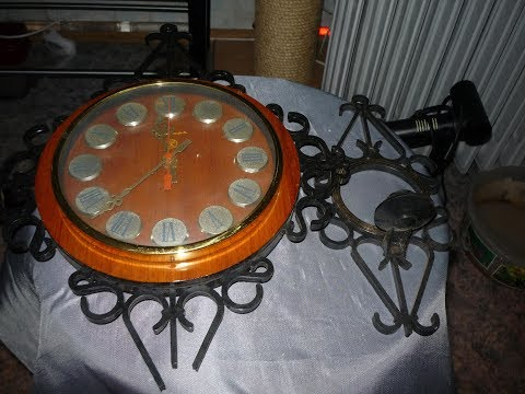 Ремонт  советских часов Янтарь
