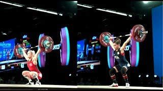 WOMEN 53kg B SNATCH / 2017 WEIGHTLIFTING WORLD CHAMPIONSHIPS